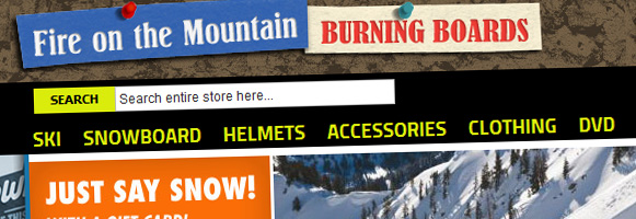 Fire on the Mountain Burning Boards