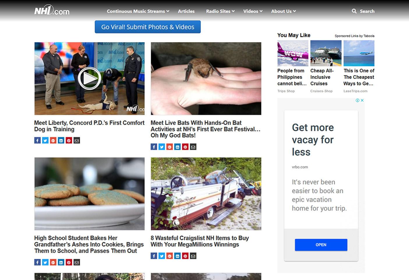 Dover/Somersworth NH & Burlington VT Website Design & Web