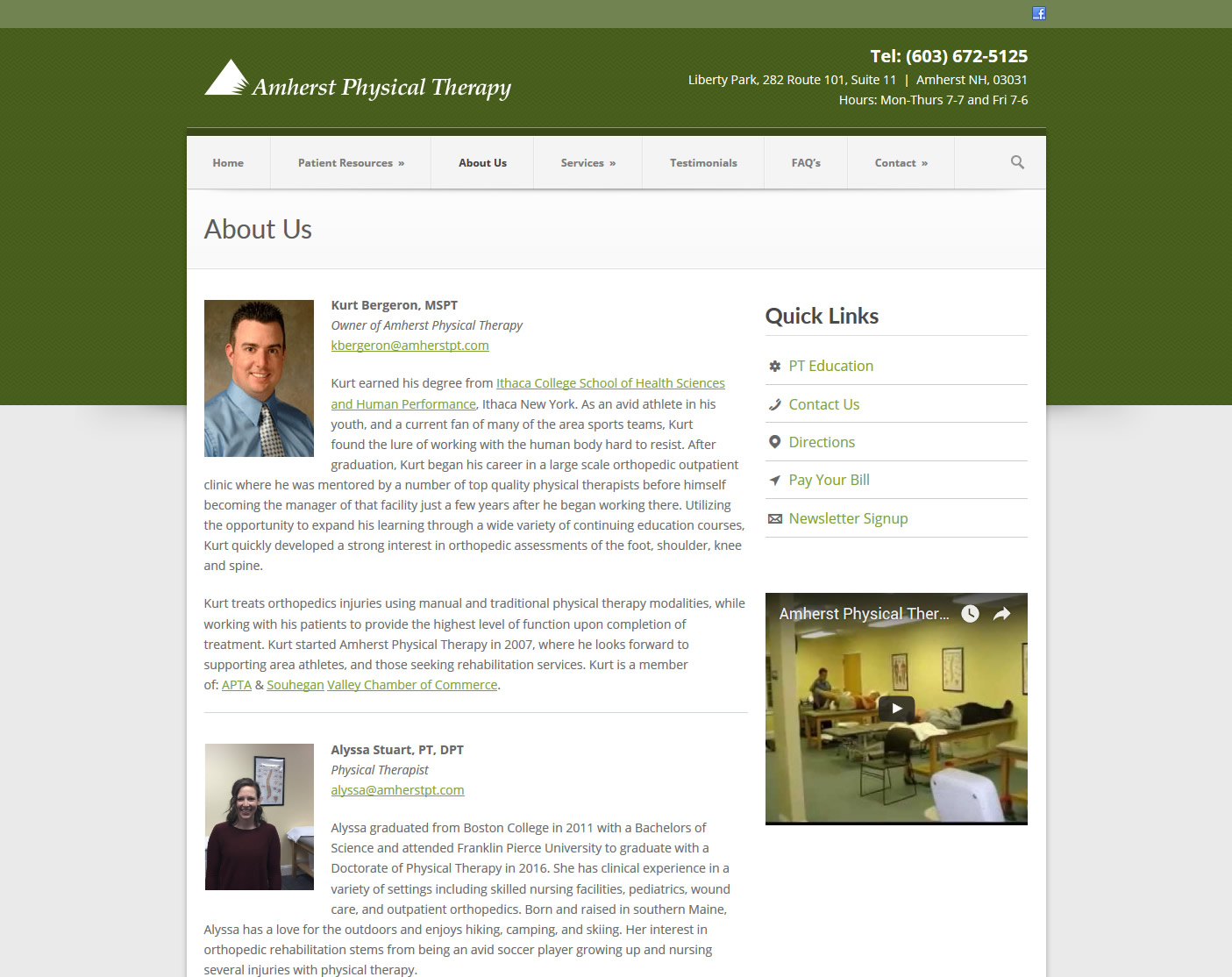 Boston physical therapy university - Click To Enlarge