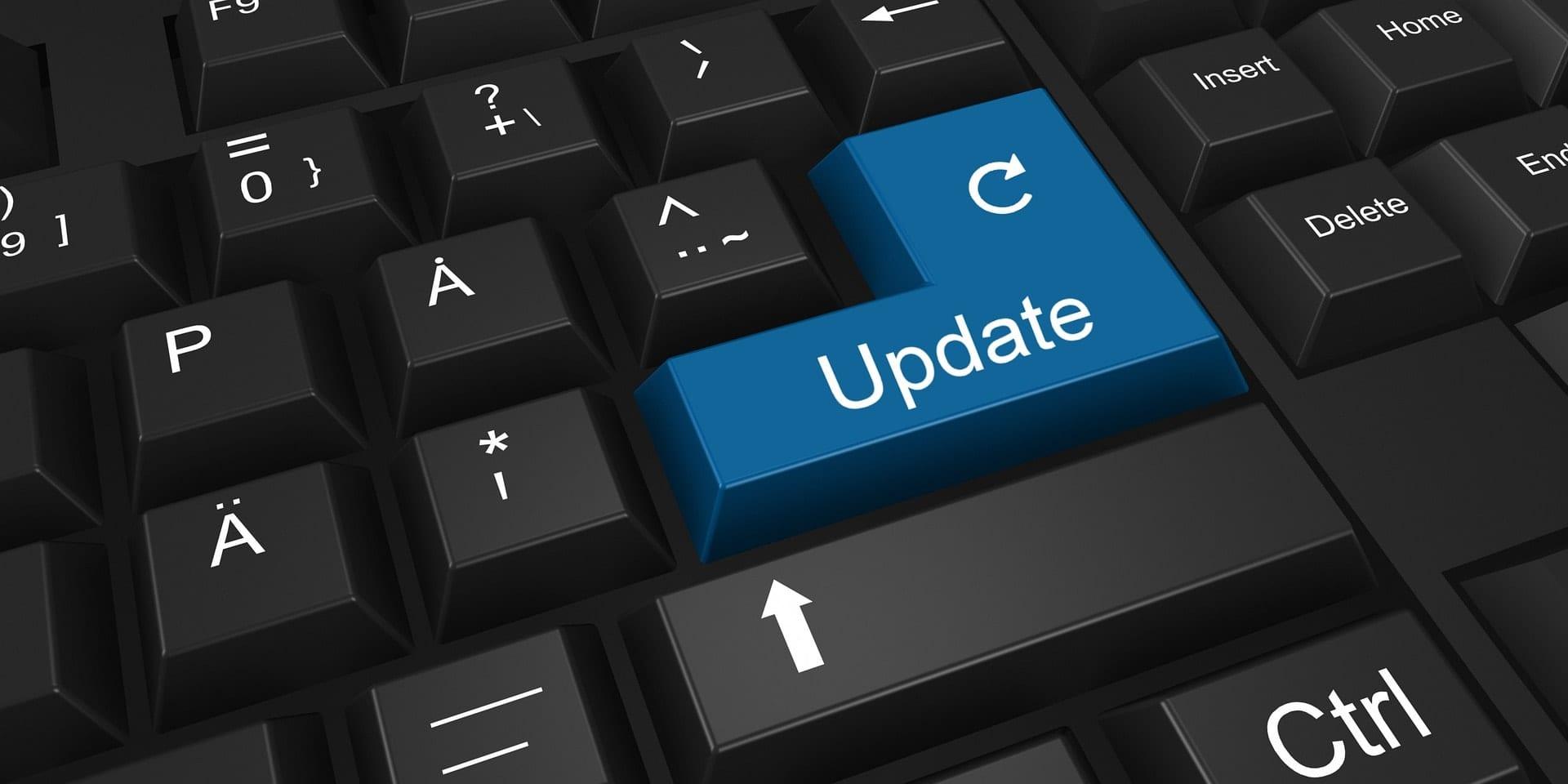 update website