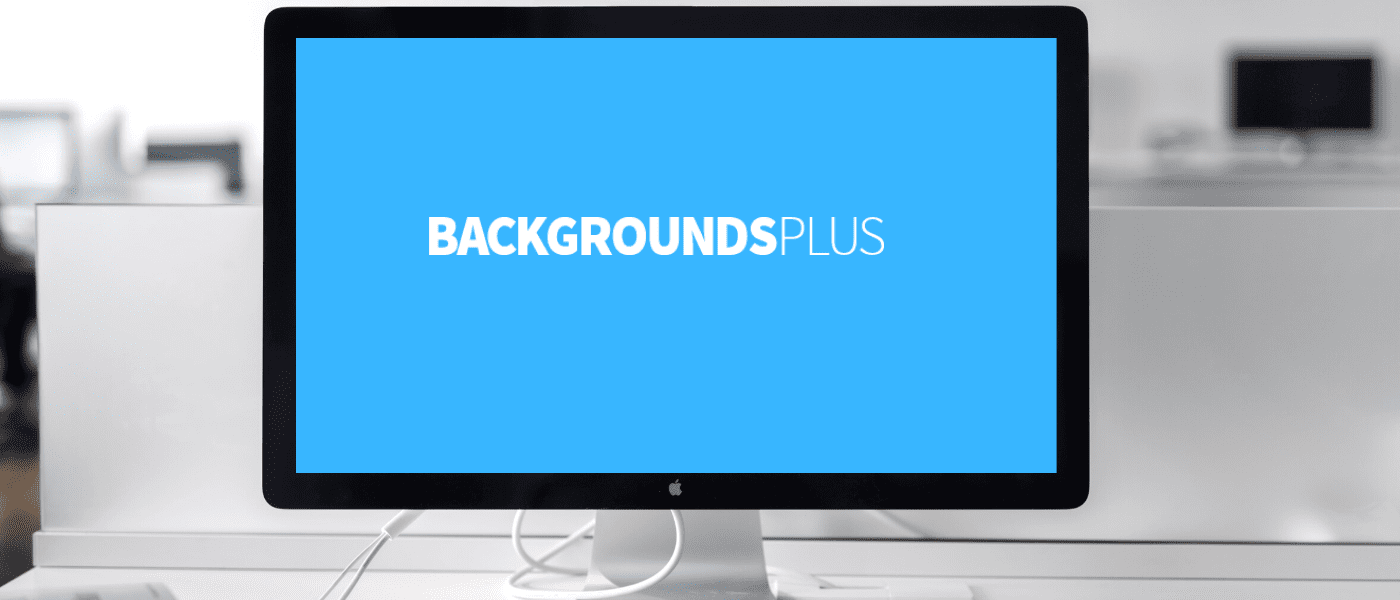 New Site Launch: Backgrounds Plus