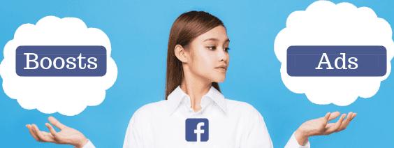 Facebook Ads versus Faceboost Boosts