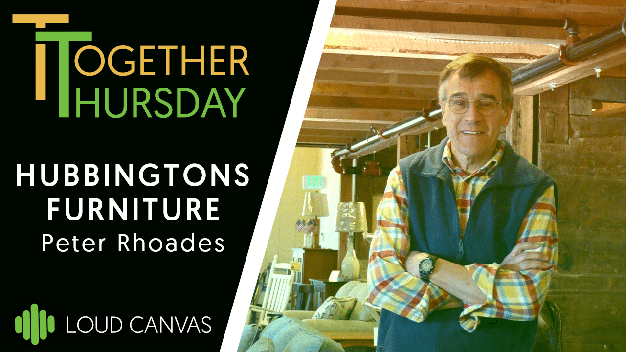 Peter Rhoades From Hubbingtons Furniture On Together Thursday With Loud Canvas Media