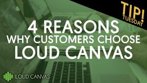 4 Reasons why customers choose us!