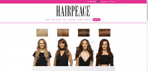 Hair peace page