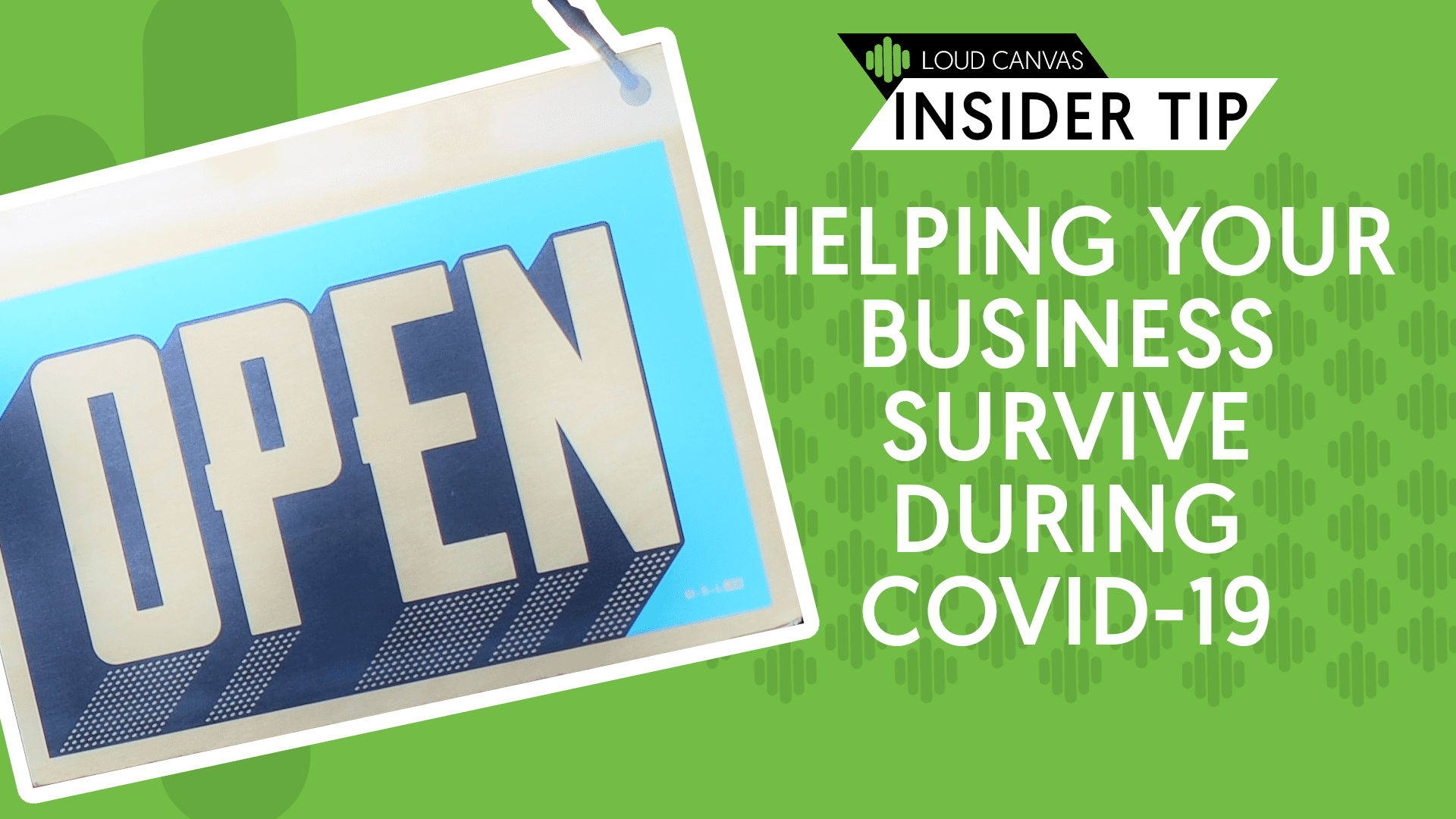 Helping Your Business Survive During COVID-19