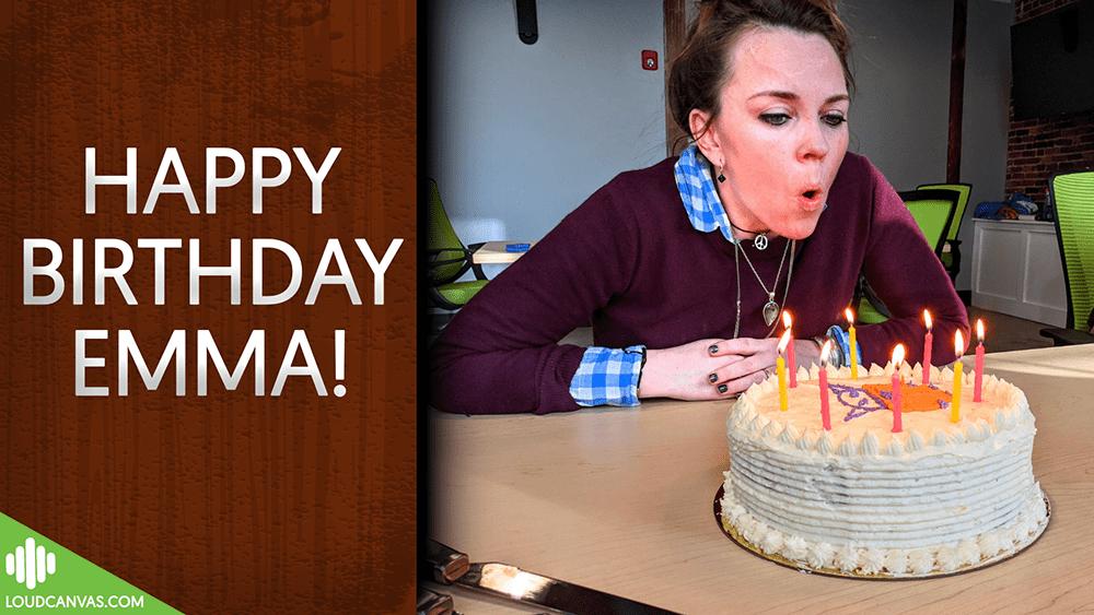 Celebrating the Loud Canvas Team : Emma Binnie