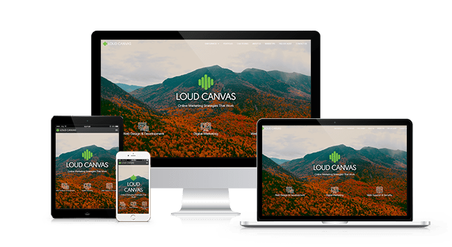 Loud Canvas Media Responsive Web Design and Development